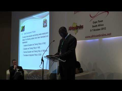Hon Philipo Augustino Mulugo, Dep Min of Education & Voc Training, Tanzania, Innovation Africa 2012