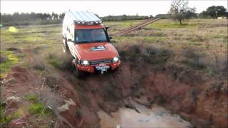 Land Rover Discovery 2 Td5 G4 Challenge Offroading, Mud