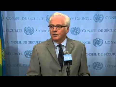 Vitaly Churkin. On Ukraine. 17 June 2014