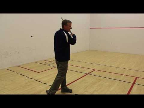 How to do a Proper Forehand and Backhand Swing in Racquetball