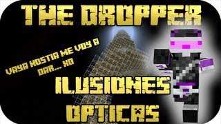 Minecraft - The Dropper - ILUSIONES ÓPTICAS