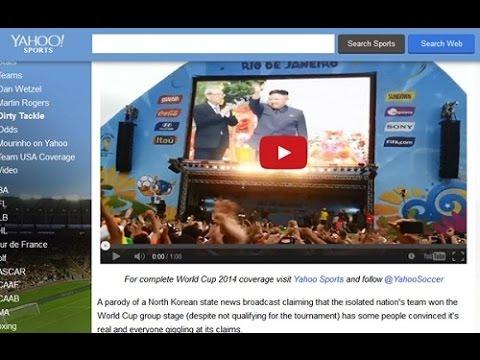 Triều Tiên: tự sướng mùa World Cup