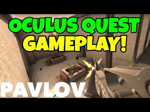 PAVLOV VR OFFICIALLY ON OCULUS QUEST ..... Unofficially! First Look Gameplay