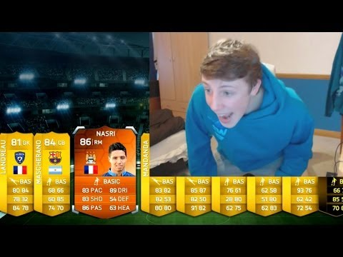 I GOT MOTM F**KING NASRI + INFORM!! - Fifa 14 Ultimate Team