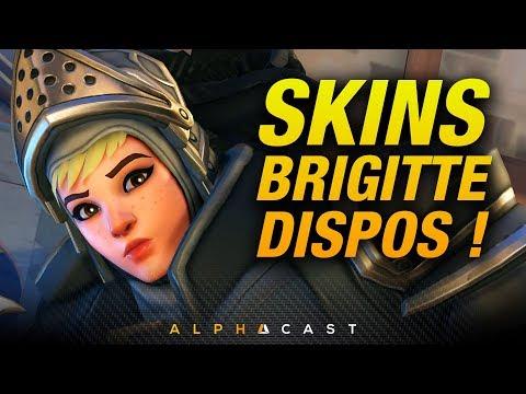 Tous les Skins de Brigittes révélés ! ► Overwatch PTR
