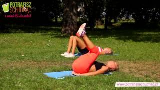 Ćwiczenia na brzuch z Izą Tyszką