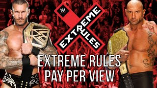 "WWE 2k14 Universe Mode #71 ""Extreme Rules PPV"""