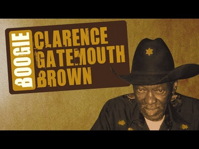 Clarence Gatemouth Brown's Vintage Texas Blues & Boogie