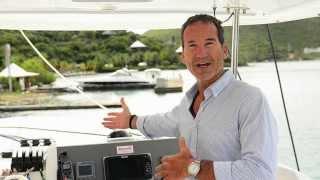 Paul Cayard On The Moorings 4800 Sailing Catamaran
