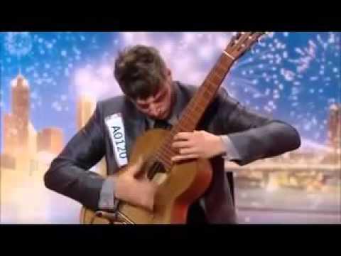 Cao thủ chơi Guitar cực đỉnh tại Australia's Got Talent