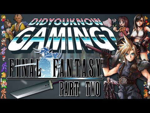 Final Fantasy Part 2 - Did You Know Gaming? Feat. ProJared, http://didyouknowgaming.com - http://vgfacts.com Check out lots more trivia at our website, you can also follow us at the links below. Like us on Facebook: h...