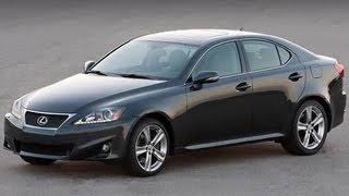 2012 Lexus IS 250 Start Up and Review V-6 videos