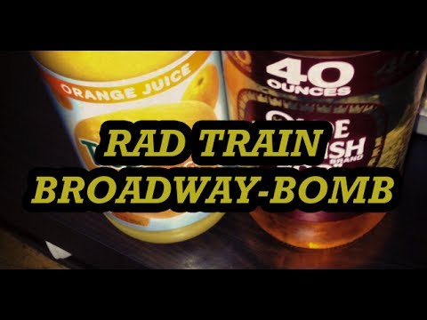 RAD TRAIN BROADWAY BOMB 2013 with Jimmy Riha
