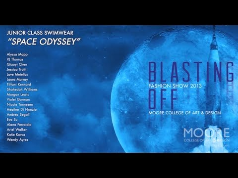 02 Swimwear // 2013 Moore Fashion Show // Blasting Off!