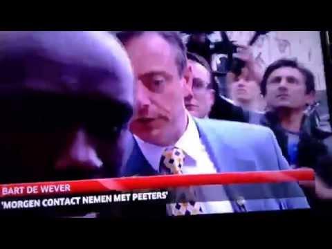 Verkiezingen 2014 Bart De Wever vs pers