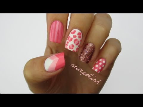 Nail Art: Pretty In Pink + GIVEAWAY