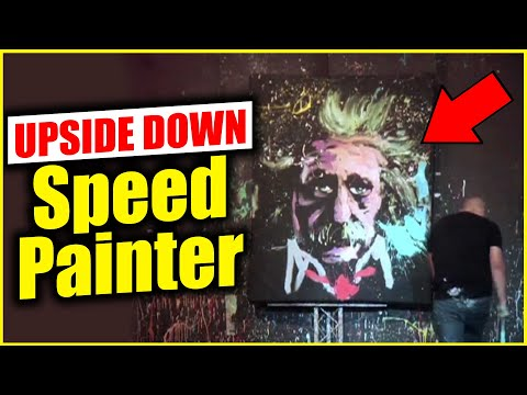 UPSIDE DOWN - Speed Painter entertainer