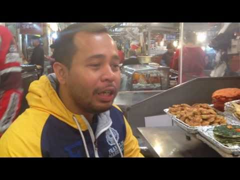 Travel Talk ID: Breakfast in Traditional Market, Seoul, South Korea with Albert Willy Claussen