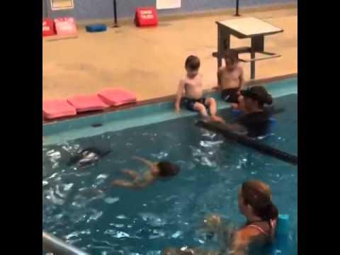 Swimming lessons - Caroline