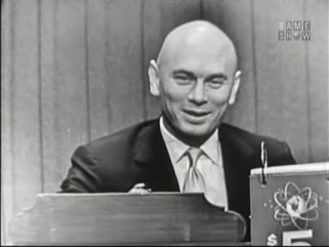 What's My Line? - Yul Brynner; Peter Lind Hayes [panel] (Jan 6, 1957)
