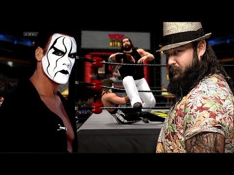 WWE 2K14 Online Match: Sting vs Bray Wyatt, WWE 2K15, Sting 7.14.14 talk