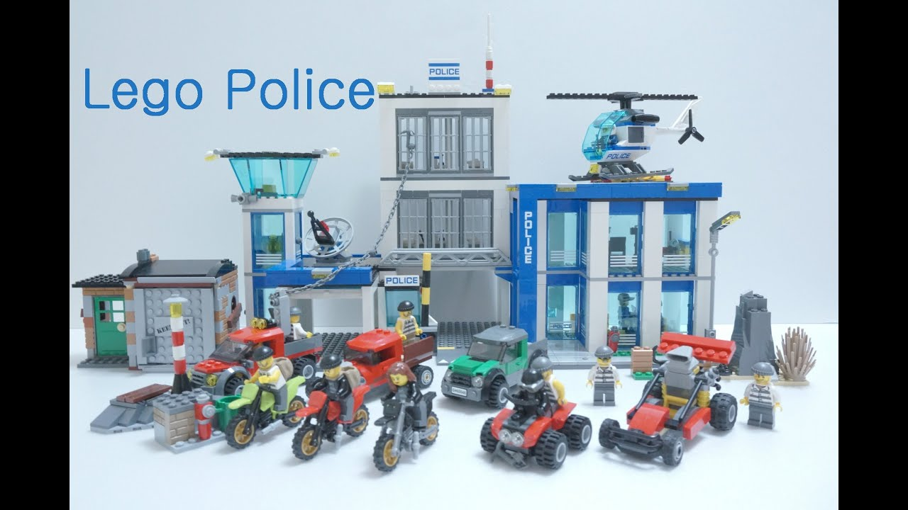 Lego Police Station Time Laspe Amp Thief S All Car 60042