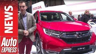 New Honda CR-V debuts in Geneva with 7 seats and hybrid power. Auto Express.