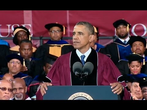 President Obama Delivers Morehouse College Commencement Address