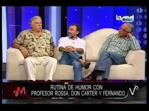 Chistes sin censura de Fernando Alarcón, Don Carter y Profesor Rossa en Mentiras Verdaderas