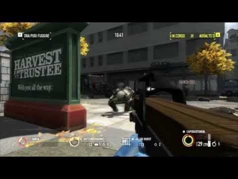 [PAYDAY 2 - XBOX-360 ONLINE] - Rapina in banca in OVERKILL, bottino in oro!