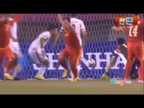 Chiến thắng lịch sử 4 -1 của Olympic Việt Nam trước Olympic Iran