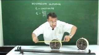 Clase 1, Movimiento Uniforme Práctica Demostrativa Y