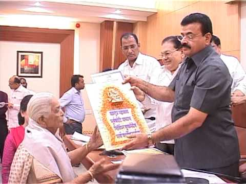 NCP Senior Citizen Felicitation Program at Rashtravadi Bhavan - Mumbai
