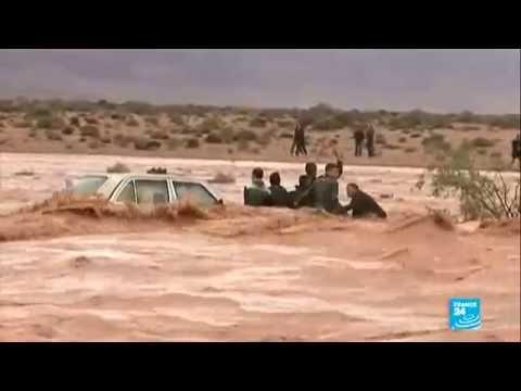فيضانات قاتلة في المغرب