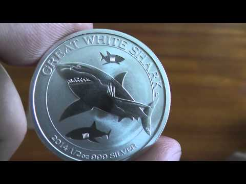 Apmex Silver Unboxing, New Wildlife Series The Great White Shark