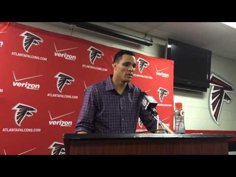 Falcons tight end Tony Gonzalez on the last game of his career