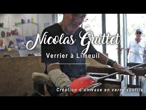 Nicolas Guittet - Souffleur de Verre à Limeuil