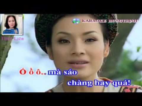 Karaoke Thuy Lien ft     987654321 Trong Tan   Tan Nhan Gap nhau giua rung mo