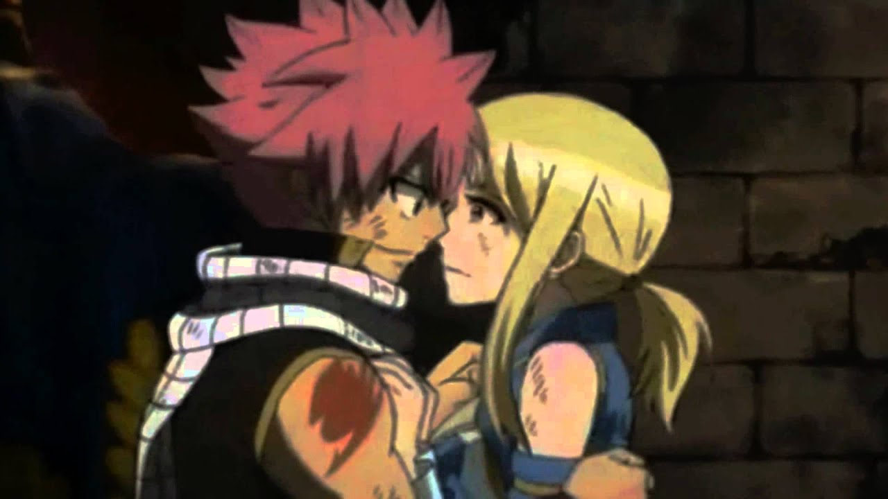 ♥NaLu & Jerza kiss ♥ - YouTube