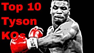 Top 10 Mike Tyson Knockouts