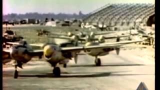 "430th FS ""Back Door Gang"" P-38 Lightnings In Action Over"