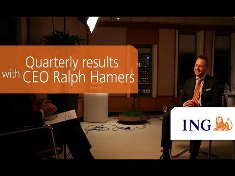Quarterly results 3Q13 with Ralph Hamers, CEO ING Group.