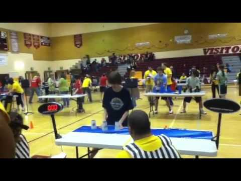 Maryland Sport Stacking Championships 3-3-3 Finals 1.96! (I got 2.69 for the 3-6-3 finals)
