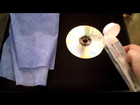 Mito de Limpiar un disco con pasta de dientes - ¿Cómo limpio o arreglo un cd rayado?
