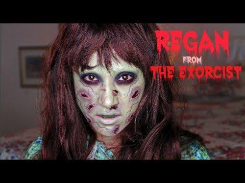 Regan from 'The Exorcist'  Halloween Tutorial