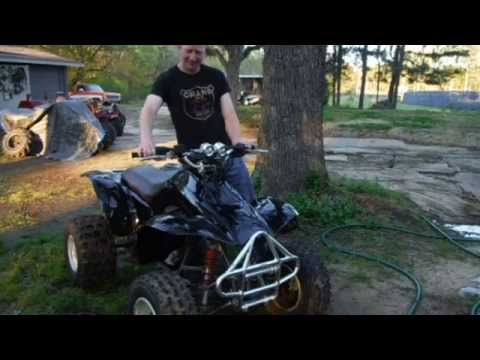 Honda 1997 TRX 300ex First Ride After Rebuild With Mods