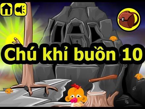 Chú khỉ buồn 10, Chơi game chú khỉ buồn online tại Gamehay24h.vn