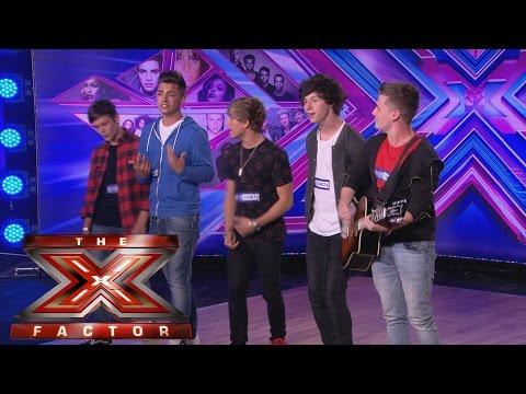 Overload sing Pompeii's Bastille - Audition Week 1 - The X Factor UK 2014