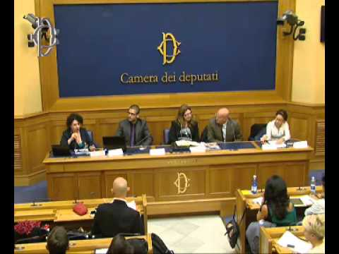 Roma - Conferenza stampa di Fucsia Fitzgerald Nissoli e Ernesto Preziosi (25.11.13)
