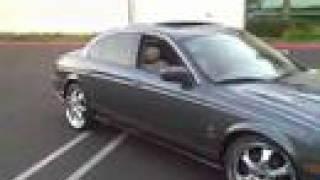 2004 Jaguar S-Type R Review, Walk Around, Start Up & Rev, Test Drive videos